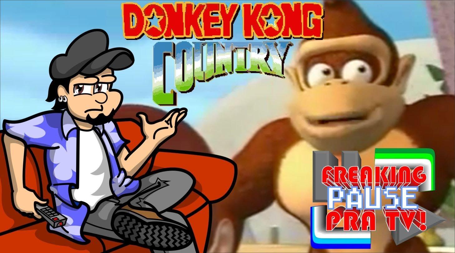 Freaking Pause Pra Tv  Donkey Kong Country Animado