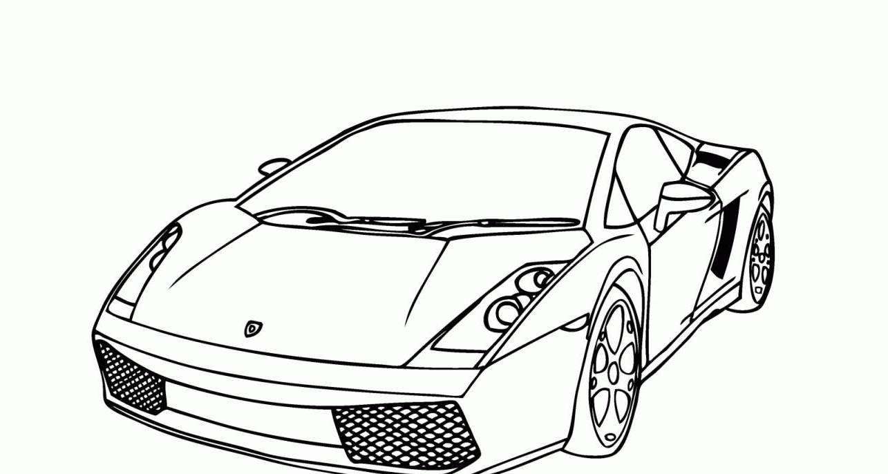 Galeria De Fotos E Imagens  Desenhos De Carros Para Pintar