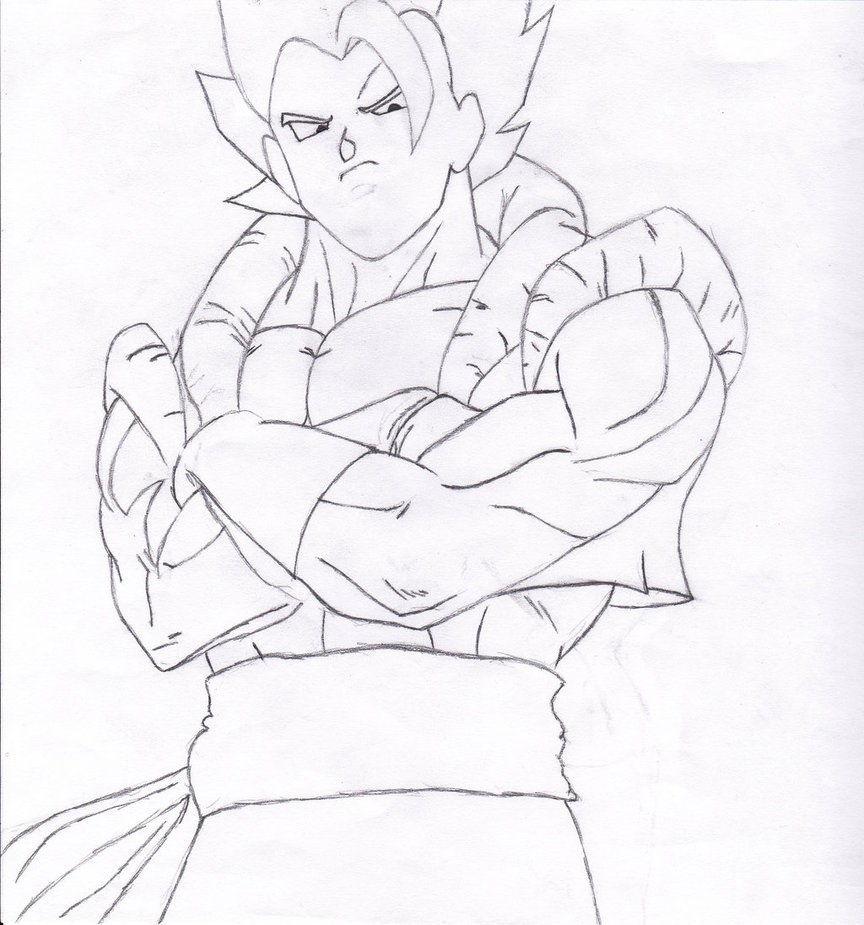 Goku Super Saiyan 4 By Anderson201 On Deviantart