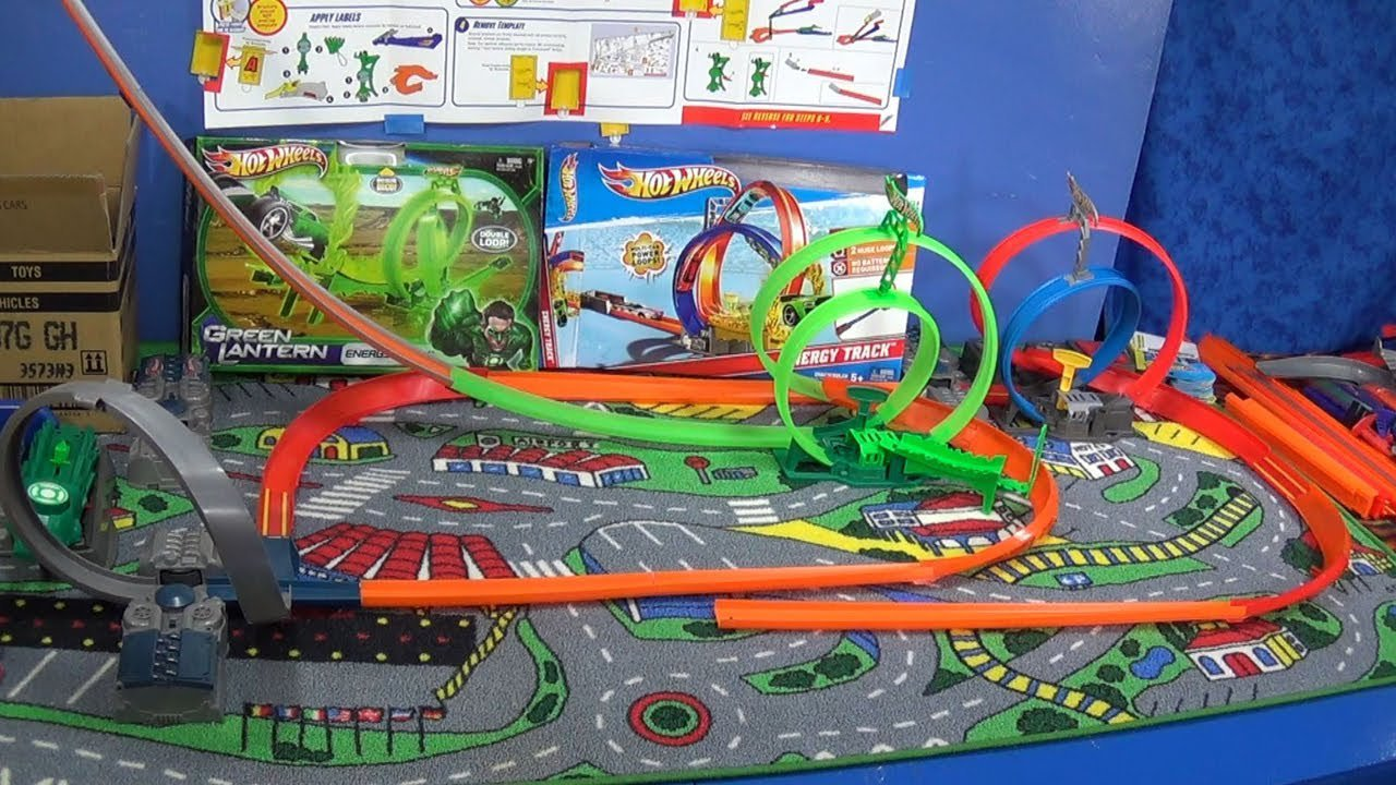 Gorilla Attack Hot Wheels Gravity Track Set By Racegrooves