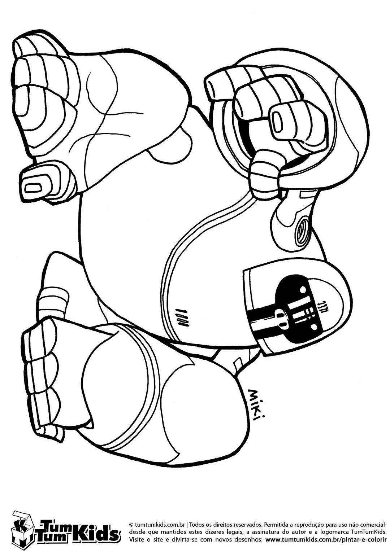 Gorylbot, O Gorila Robô