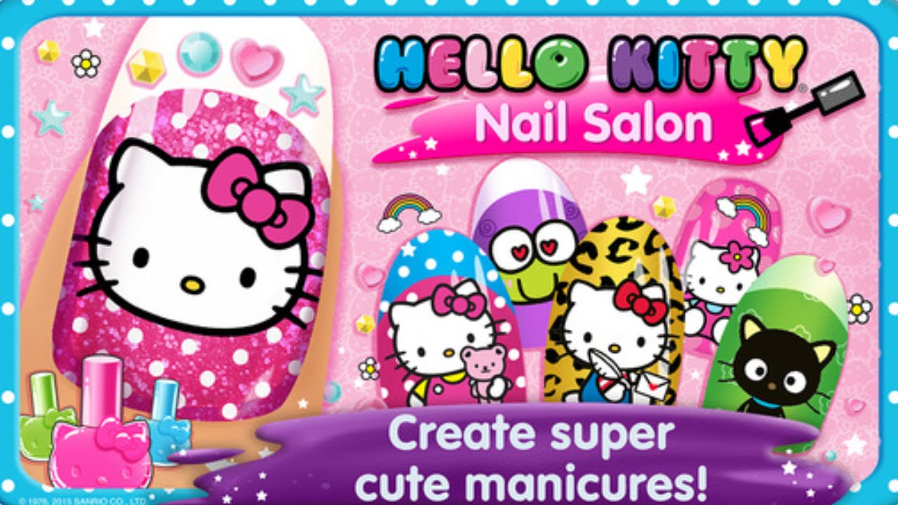 Hello Kitty Nail Salon   Salão De Beleza Hello Kitty