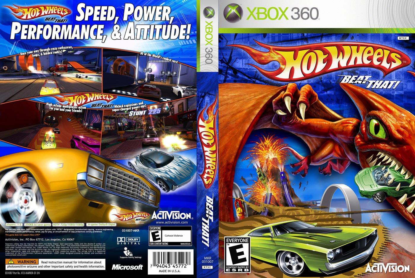 Hot Wheels Beat That Xbox 360