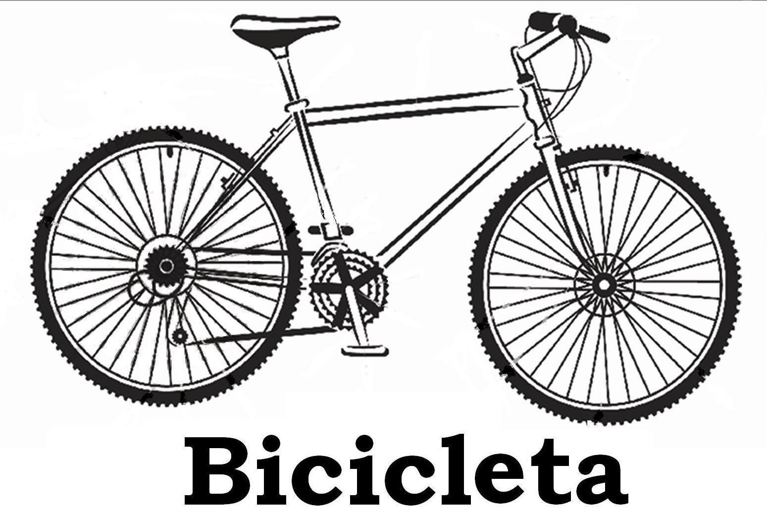 Imagens De Bicicletas Para Imprimir E Colorir