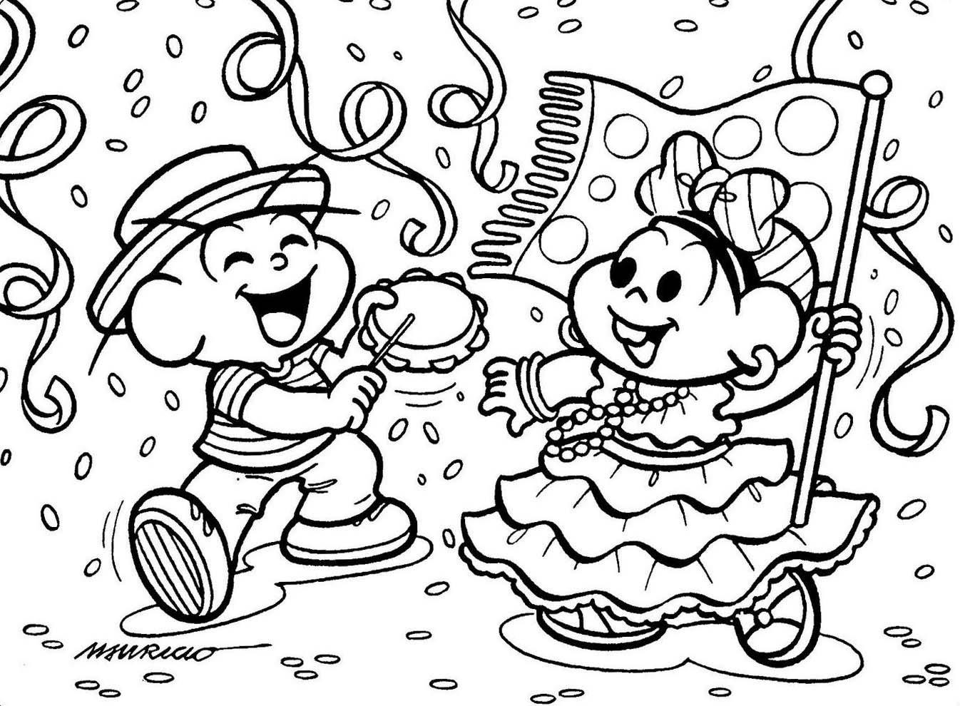 Imagens De Carnaval Para Colorir Sketch Coloring Page