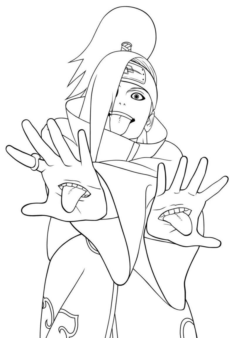 Imagens Do Naruto Para Desenhar