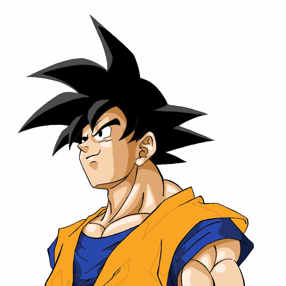 Imagens Para Colorir Do Goku