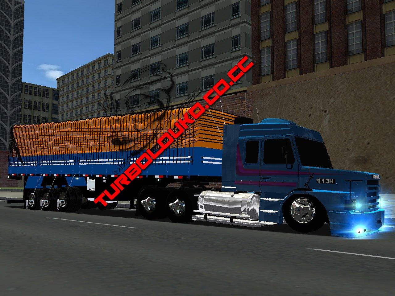 Jadson Download  Scania 113 + Carreta Batata