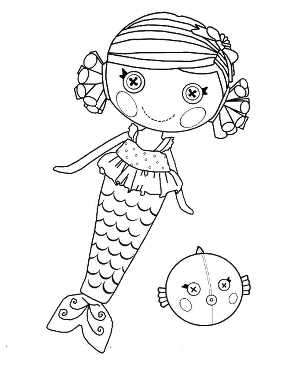 Jogar Jogo Grátis Desenhos Para Colorir Lalaloopsy Sketch Coloring