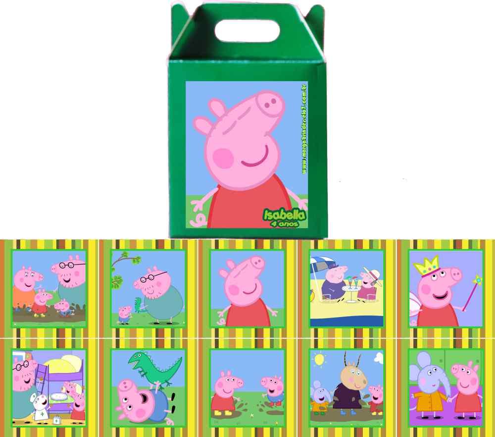 Jogo Da Memoria Peppa Pig