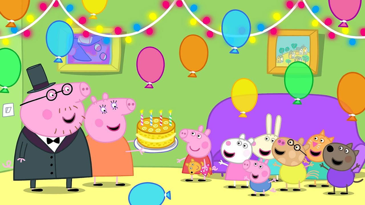 Jogo Da Peppa  Festa Na Casa Da Peppa Pig (happy Birthday Peppa