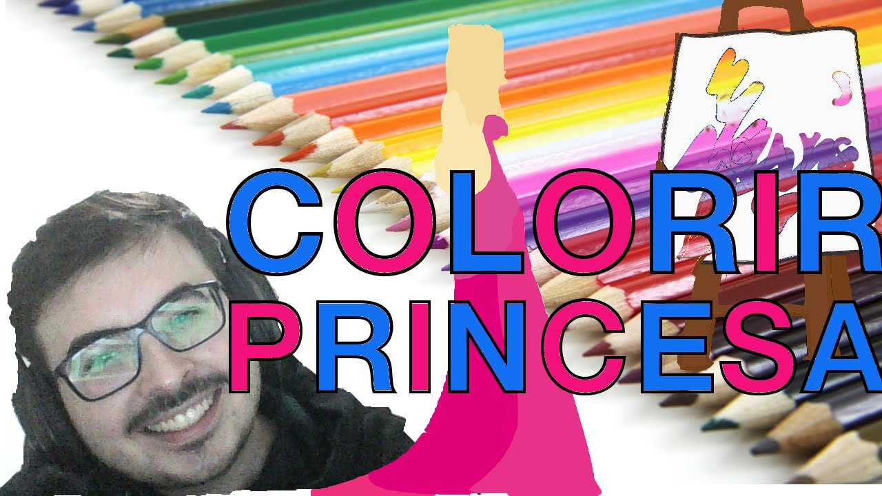 Jogo De Colorir Desenho De Princesas