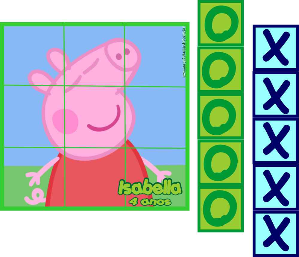 Jogo Festa Peppa Pig
