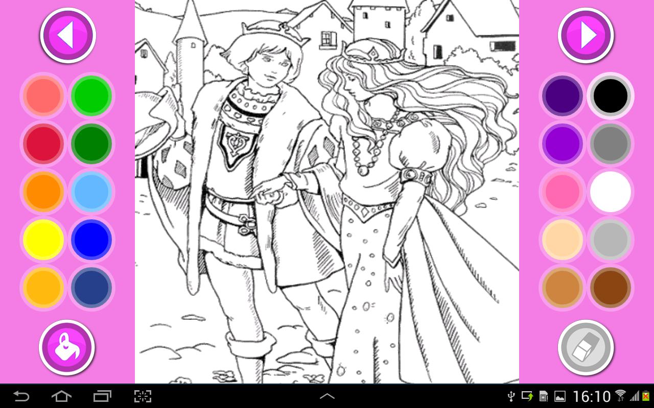 Jogos Colorir  Princesas Apk Baixar