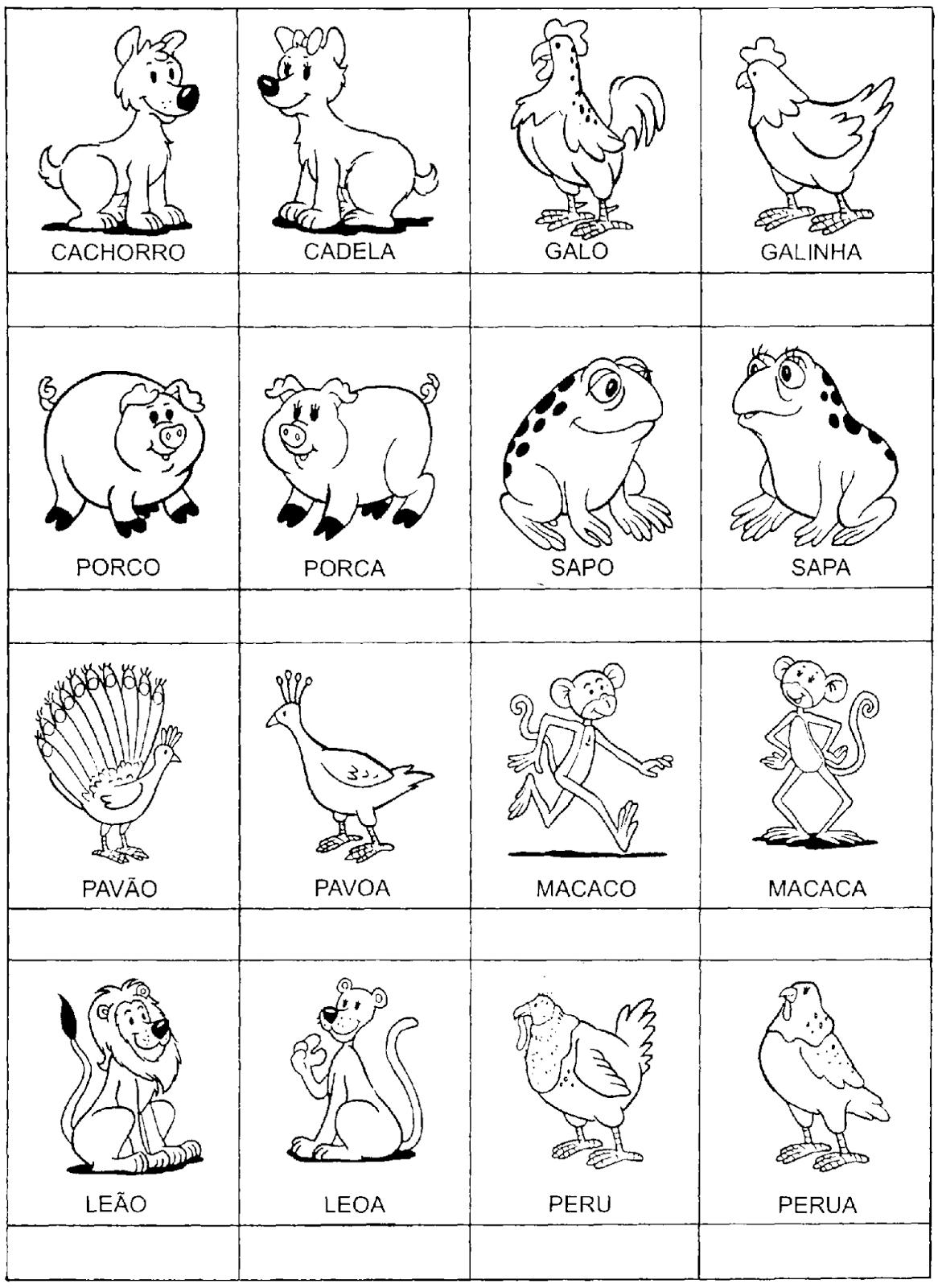 Jogos Da Memória Para Imprimir E Colorir