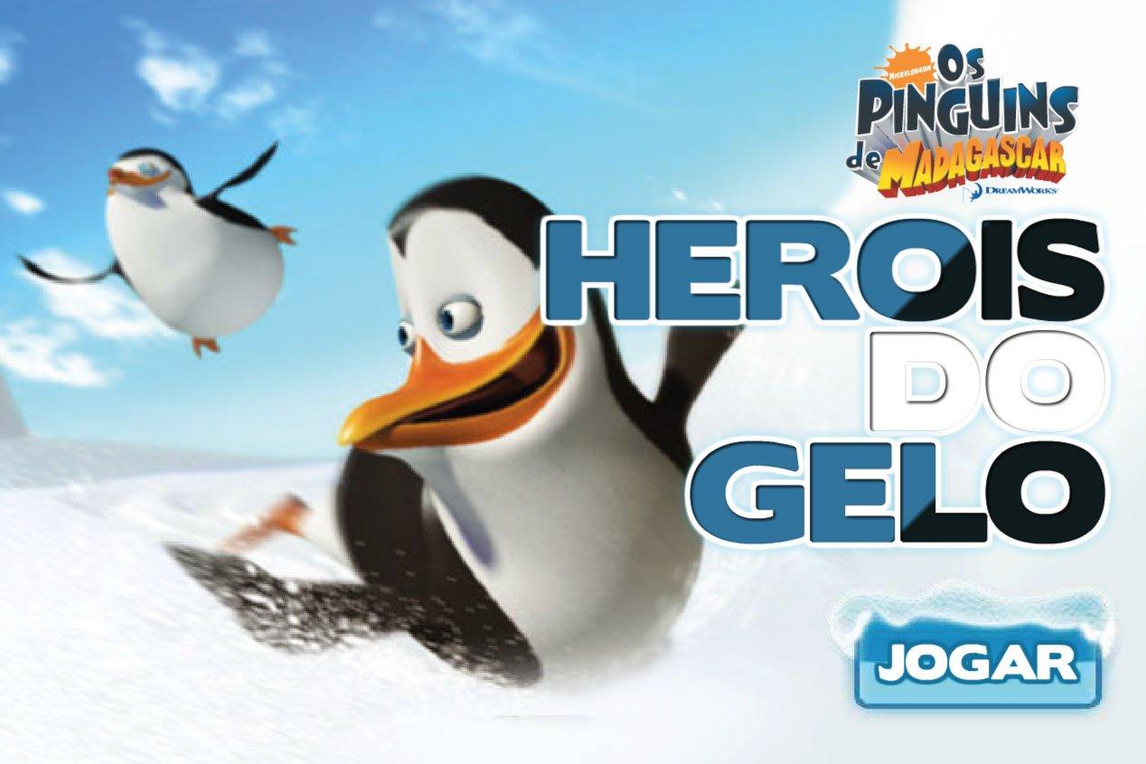 Jogos Da Nickelodeon  Jogo Heróis Do Gelo