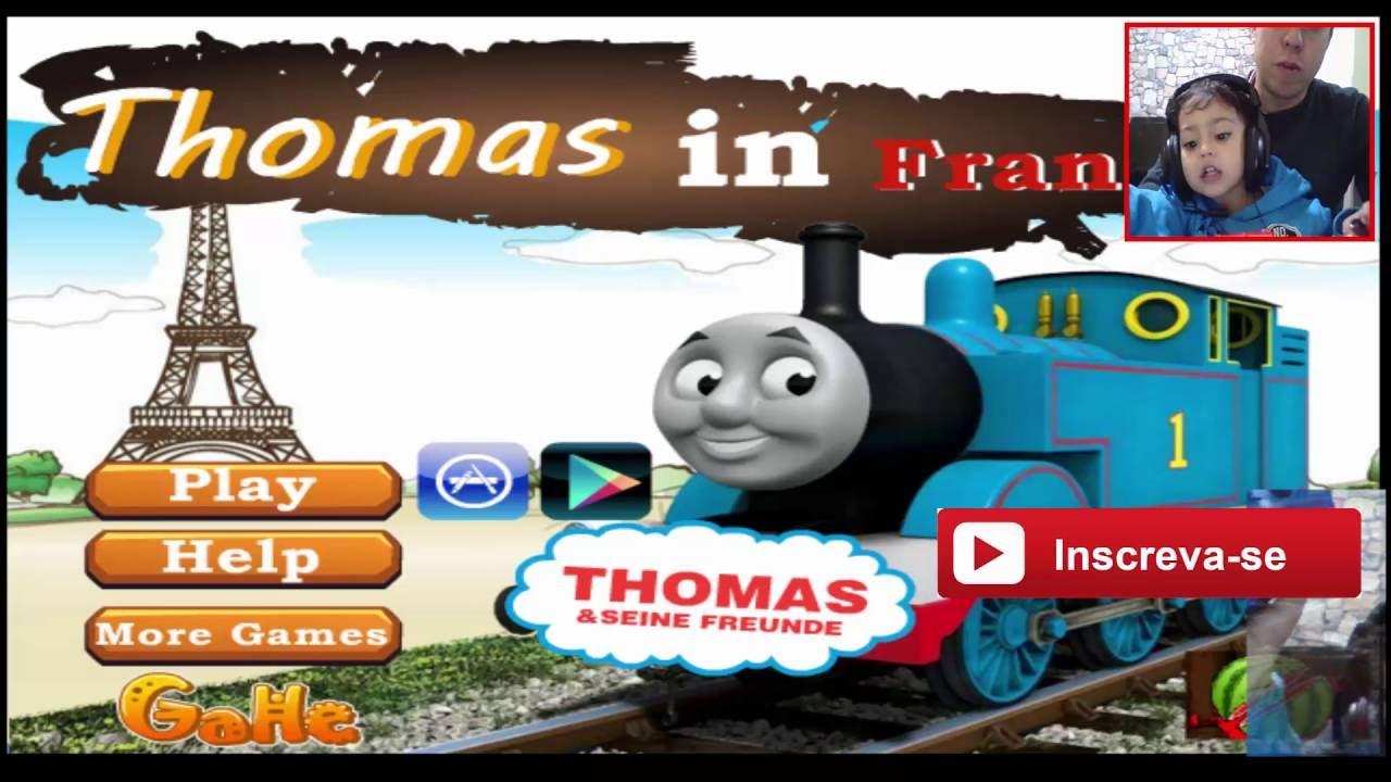 Jogos Online Para CrianÇas Pequenas  Jogo Do Trem Thomas E Seus