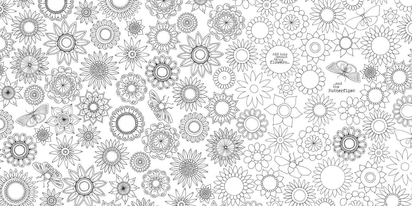 Imprimir Desenhos De Flores