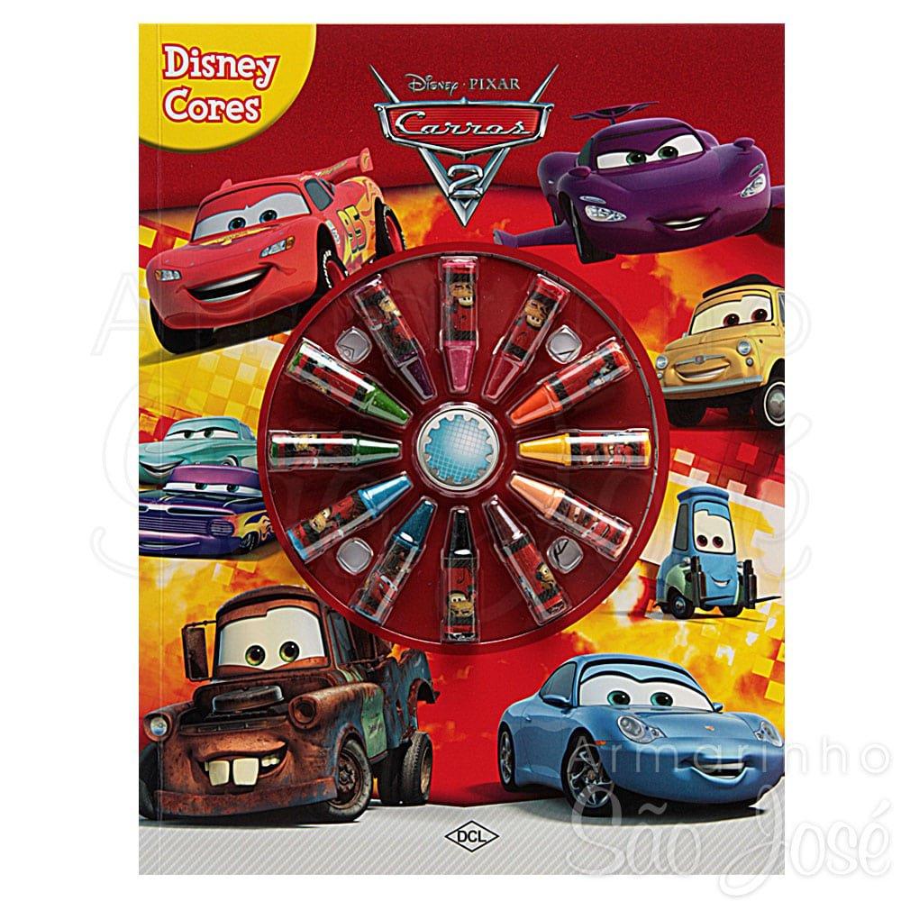 Livro Para Colorir Infantil Disney Carros 2 No Armarinho São José