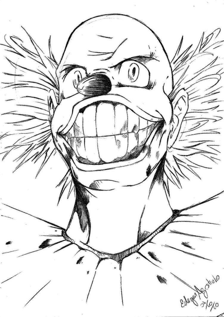 Desenho Do Palhaco 157