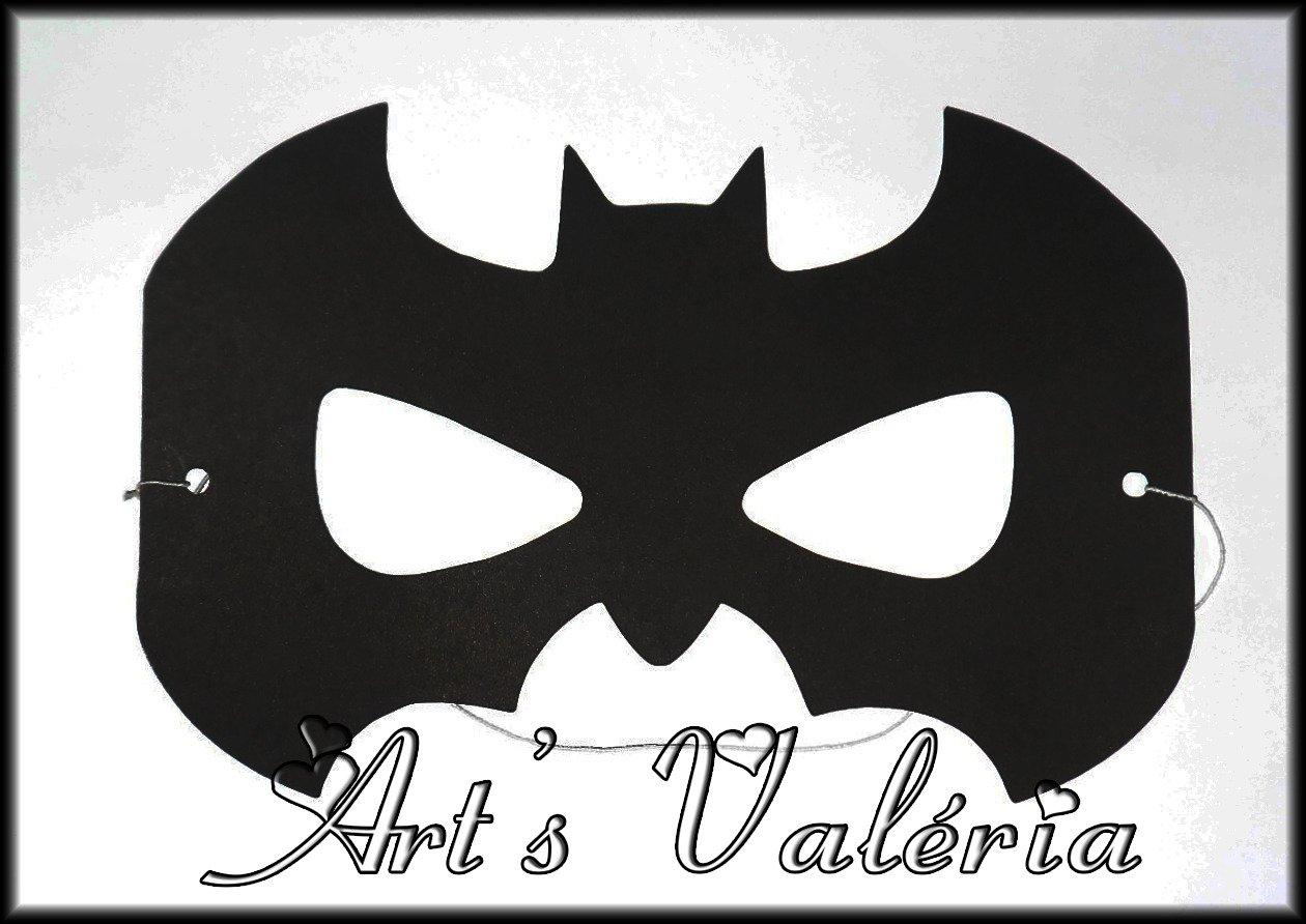 Máscara Do Batman E Mulher
