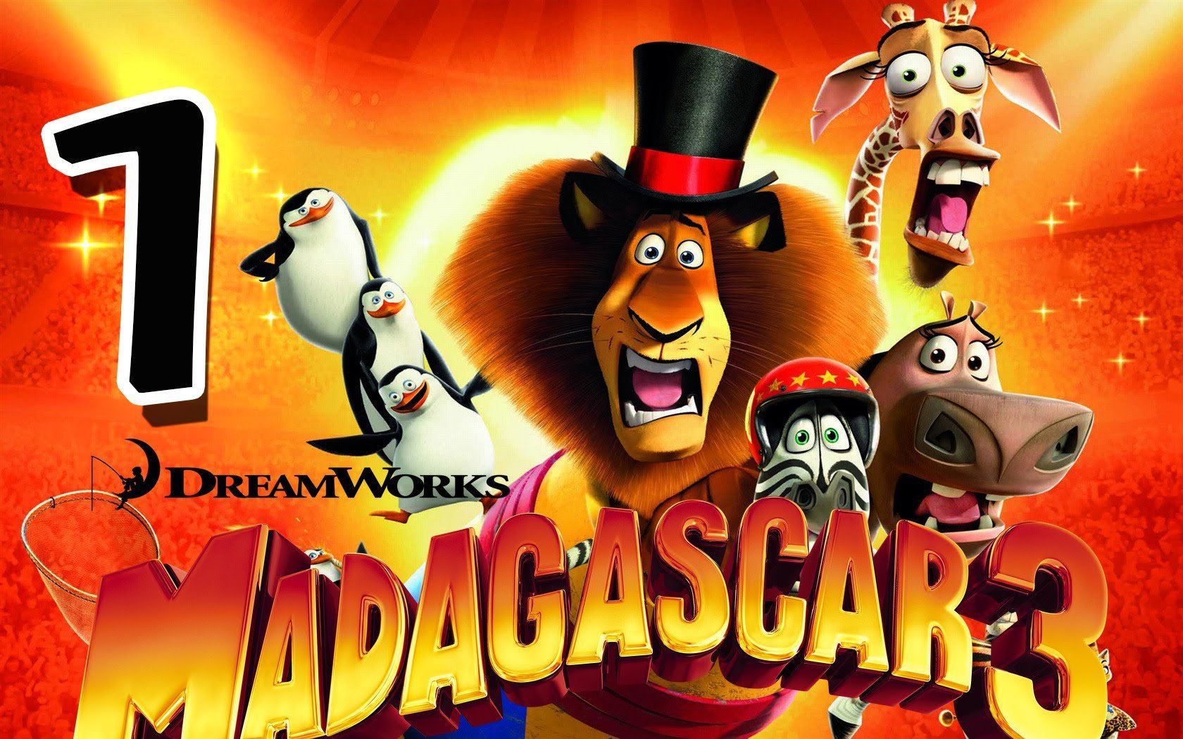 Madagascar 3  The Game Walkthrough Part 1 (ps3, X360, Wii) Mission