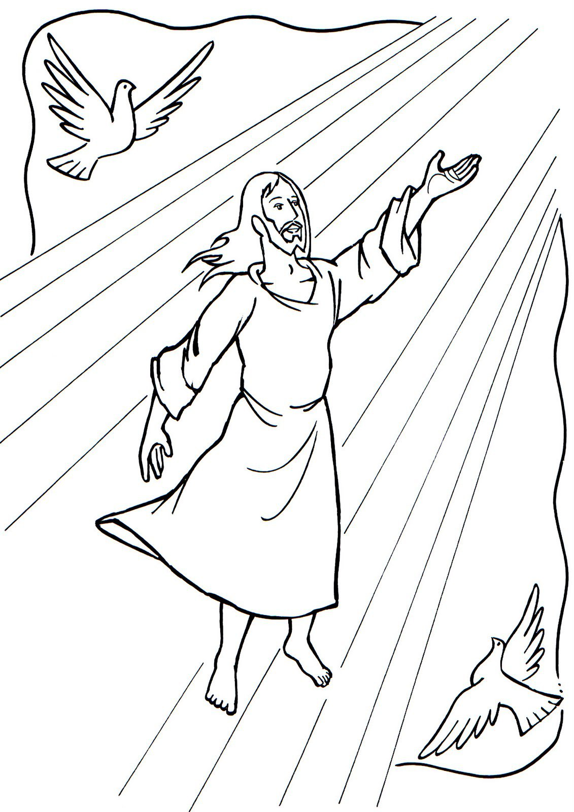 Maestros De Corazón Imágenes Para Colorear Vida Jesús Sketch