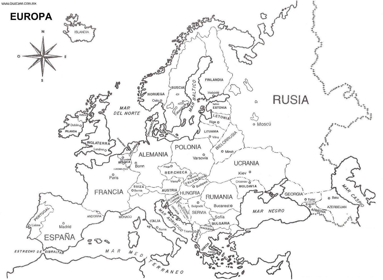 best Imagenes De Mapa De Europa Para Pintar image collection