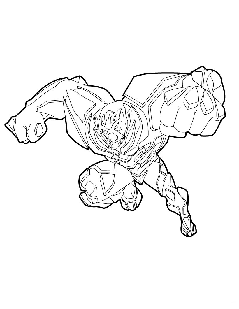 Max Steel Coloring Pages Sketch Coloring Page