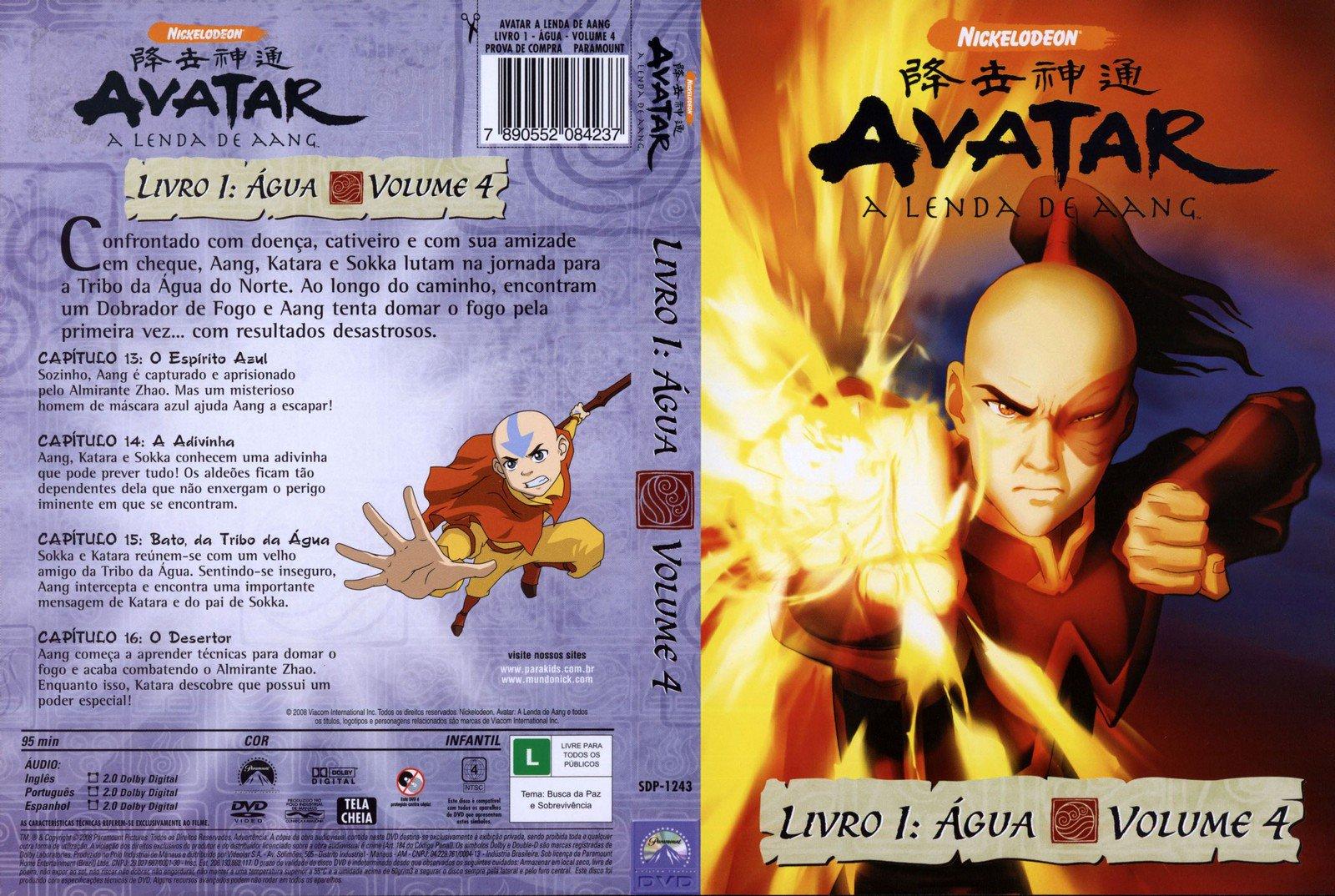 Megapost – Avatar – A Lenda De Aang – Livro 1 – Água « Visitem Www