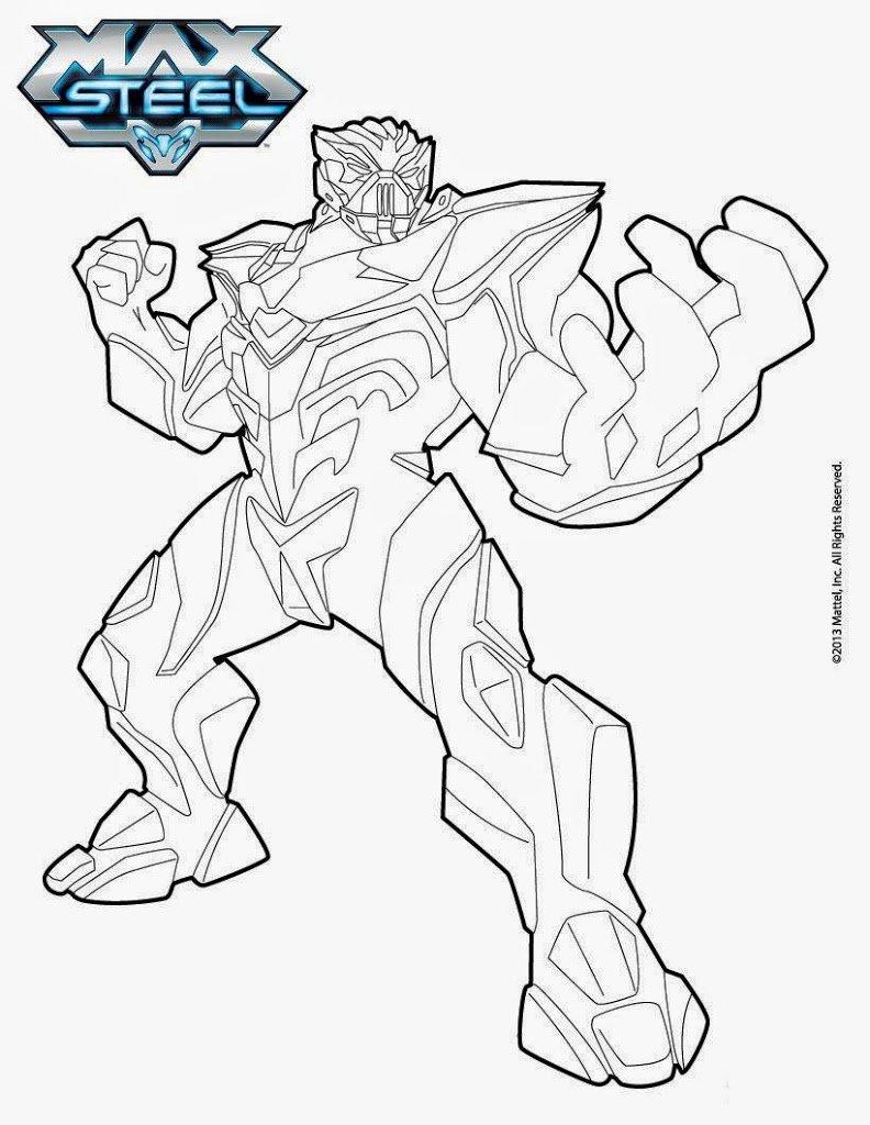 Melhores Desenhos Para Colorir Do Max Steel Como Desenhar 10