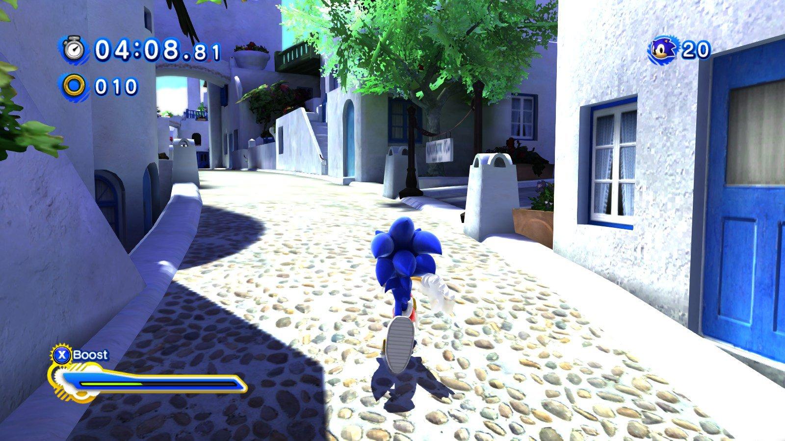 Mod De Sonic Generations Para Pc Vai Incluir Fases De Sonic