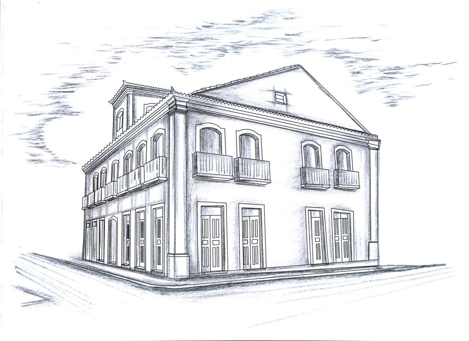 Desenho De Casas Simples Para Colorir: Casas Para Desenhar