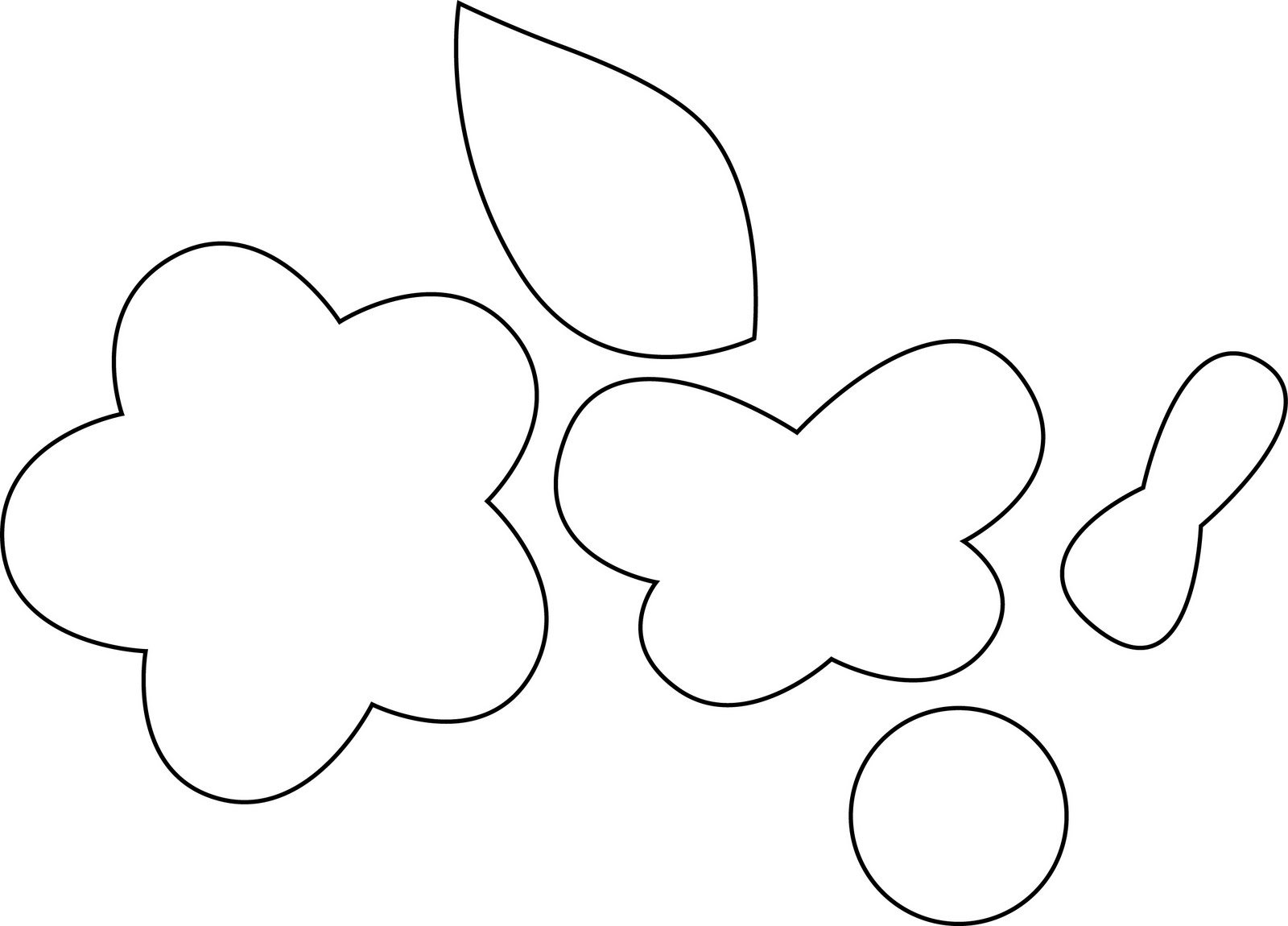 Moldes De Borboletas E Flores Modelos