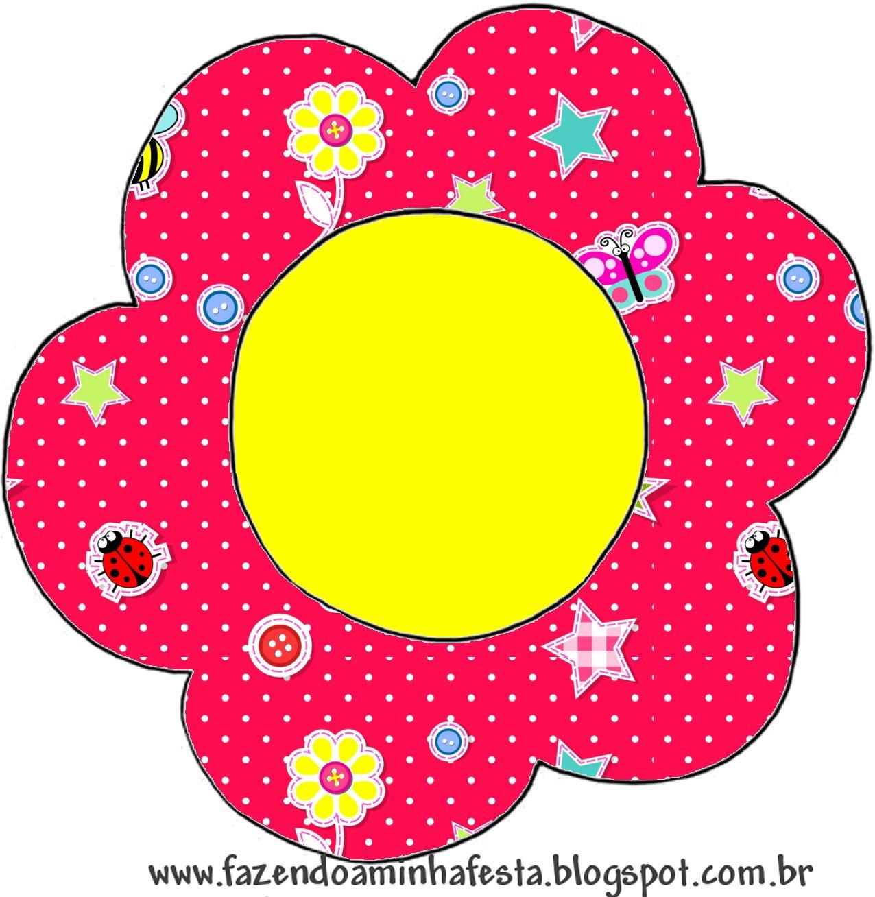 Incrível Desenho De Flor Colorida Para Imprimir Melhores