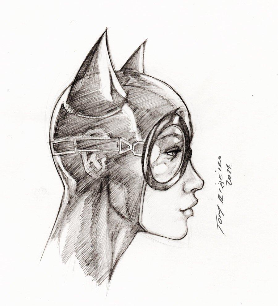 Mulher Gato Em Desenho