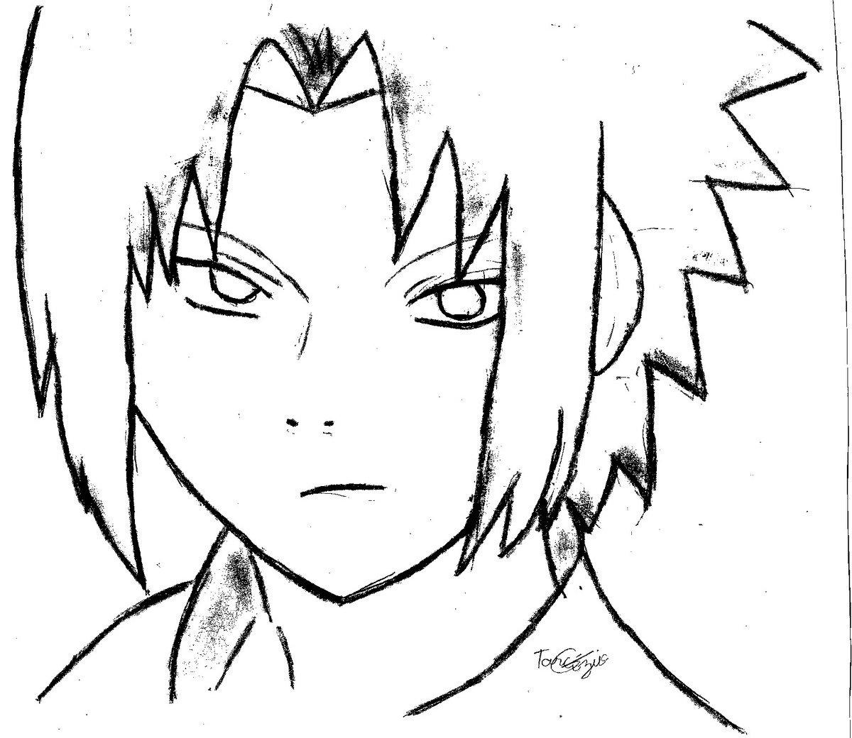Naruto Para Desenhar