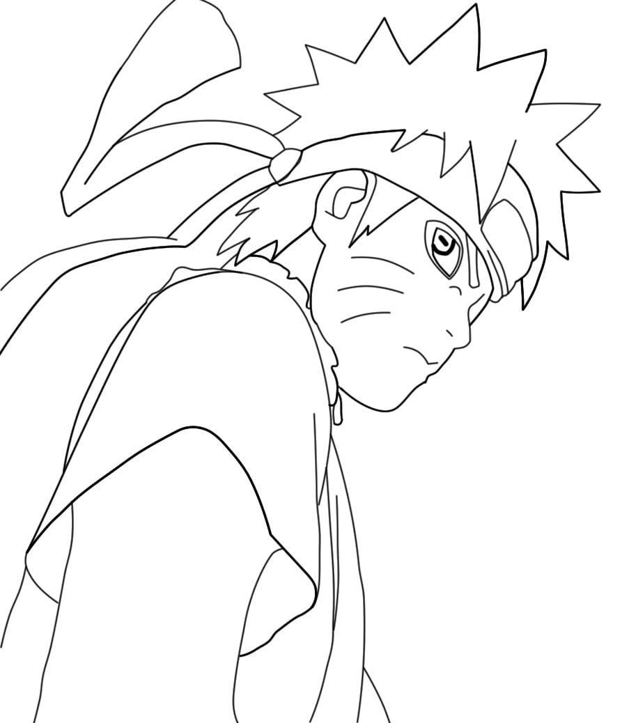 Naruto Shippuden Para Colorir    Avaré