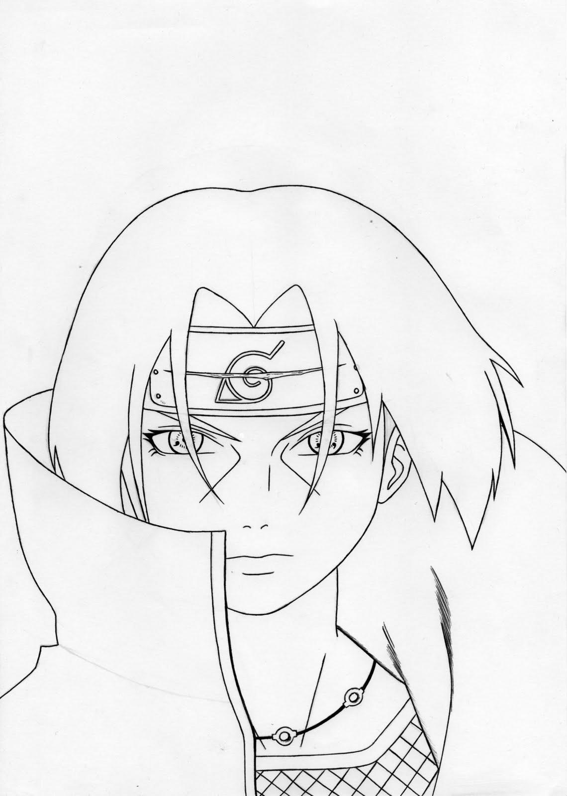 Naruto Shippuden Para Desenhar    Avaré