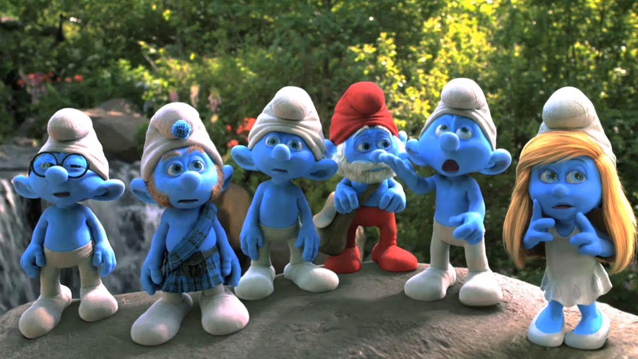 Os Smurfs (3d)