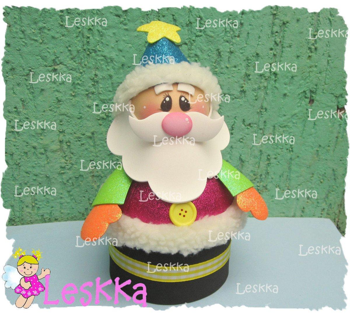 Papai Noel Colorido
