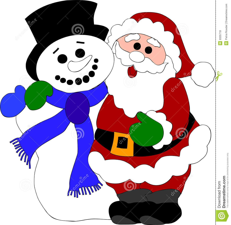 Papai Noel Desenho Colorido