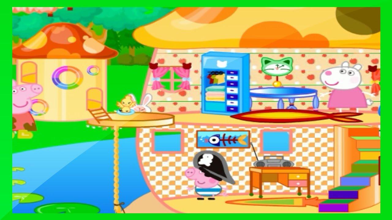 Peppa Pig Arrumando A Sua Casinha