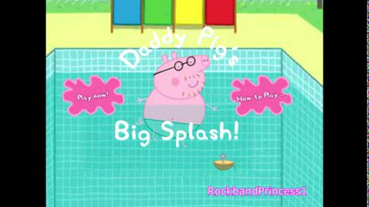 Peppa Pig Games Peppa Pig English Cartoon Video Game