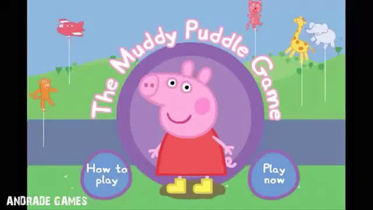 Peppa Pig Pulando Na Lama Jogos Peppa Pig