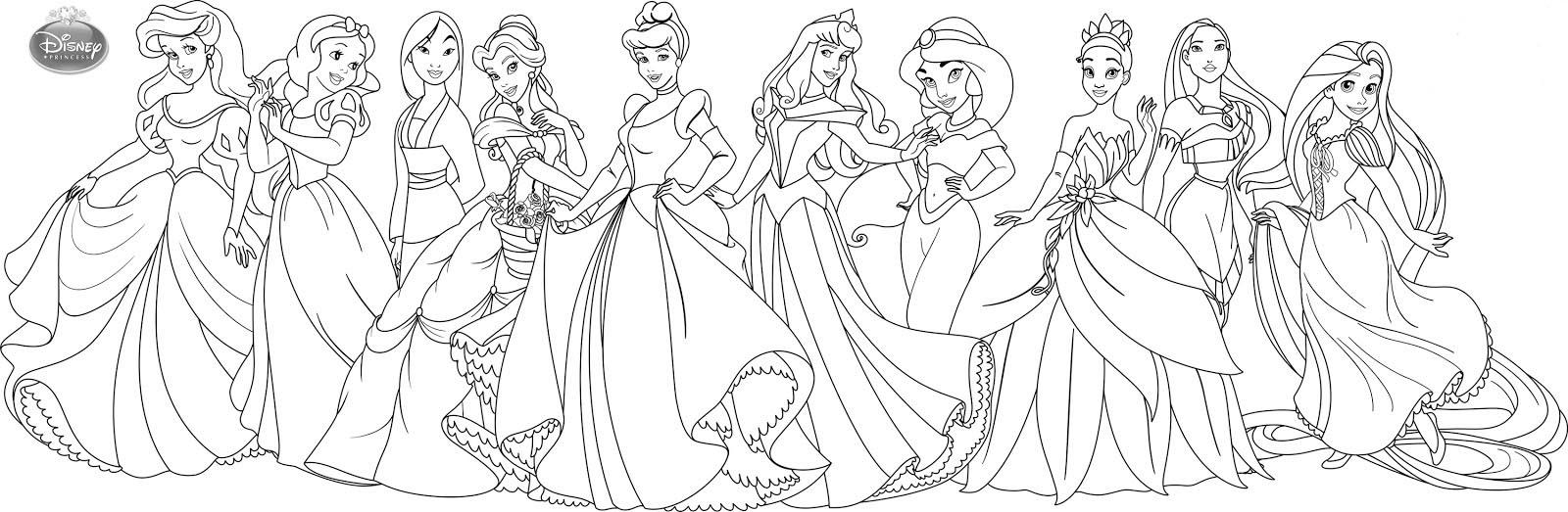 Pinta As Princesas