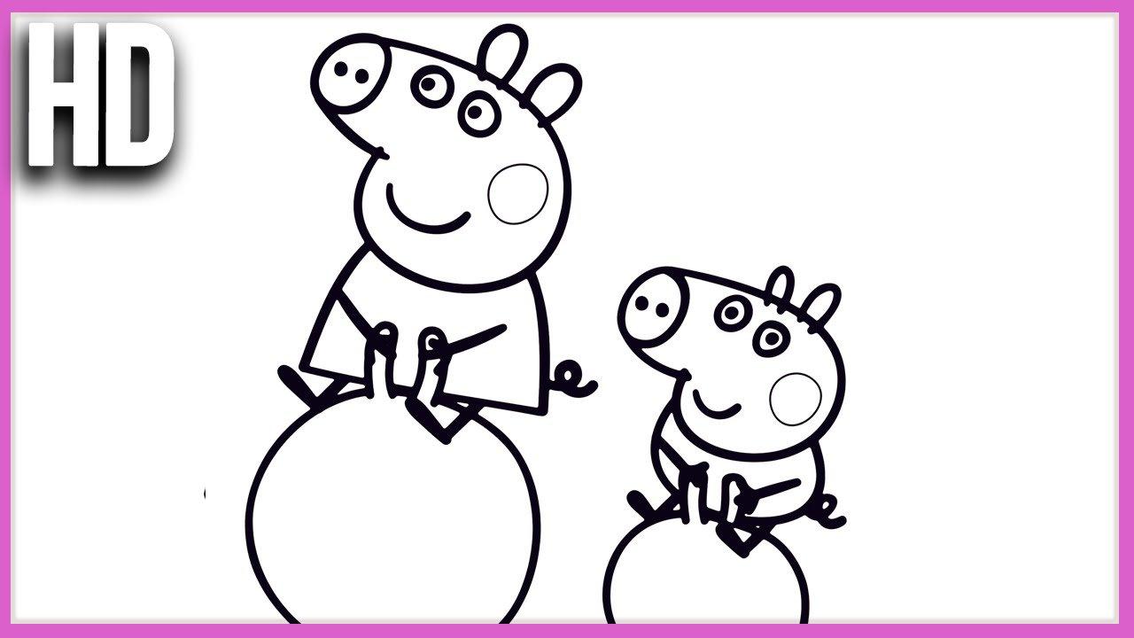 Pintando Peppa Pig E George Pig