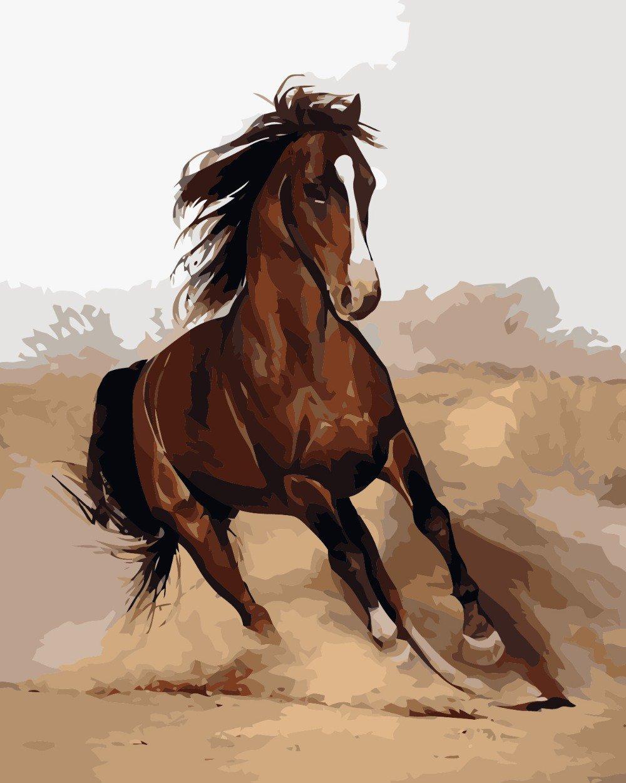 Pintura A óleo Do Cavalo Vender Por Atacado