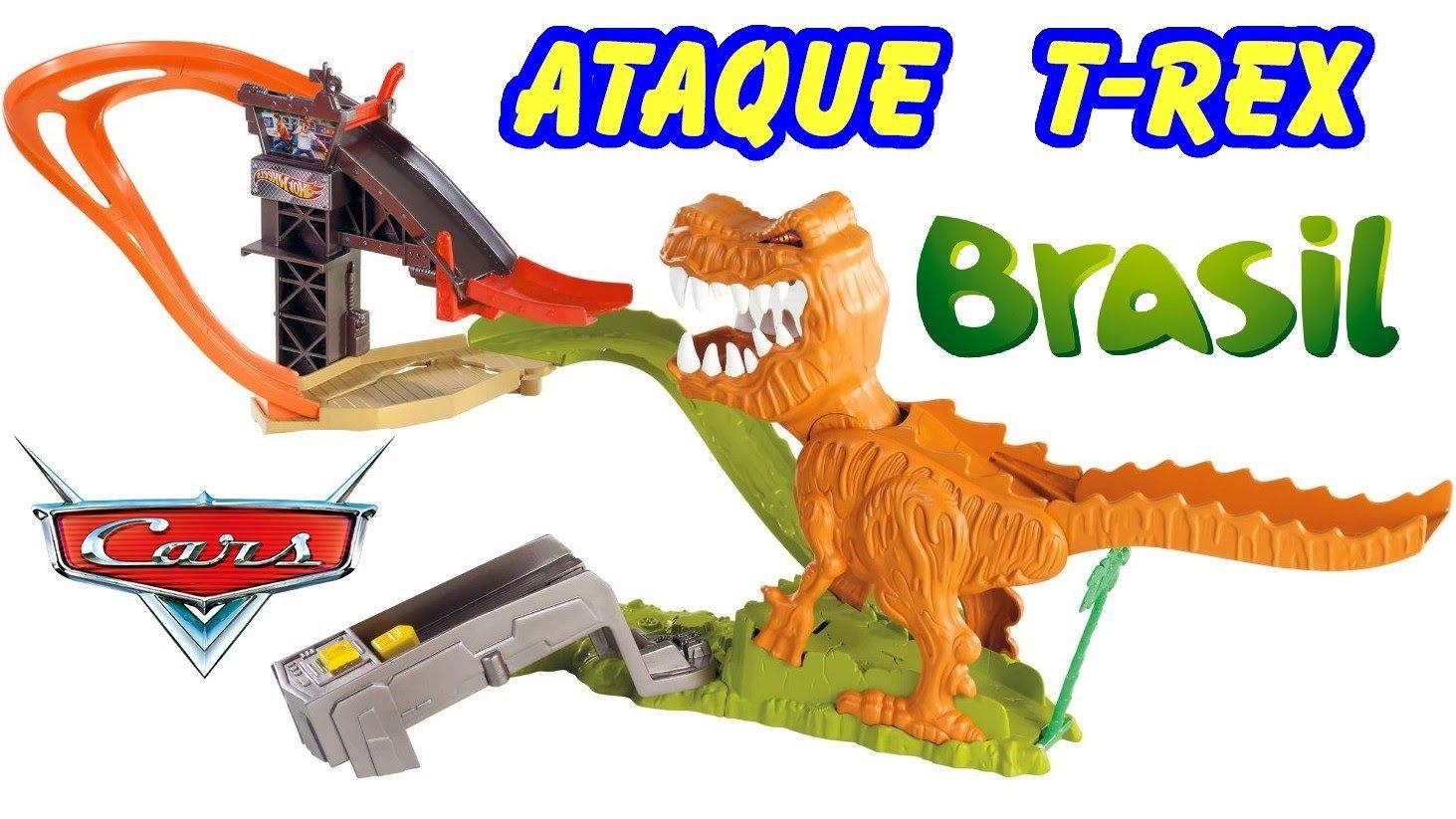 Pista Ataque Do Dinossauro Jurassic T