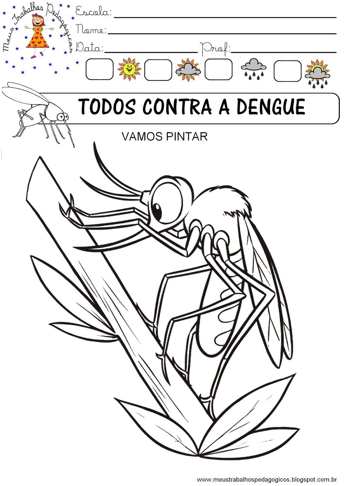 Portal Do Professor Do Ensino Infantil  Atividades Para Dengue